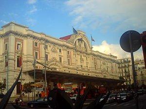 Mergellina Train Station