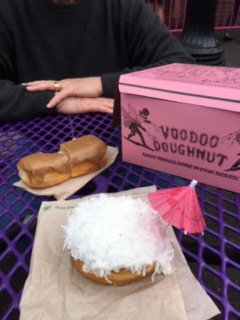 Yummy coconut and maple bar