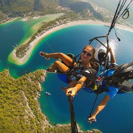 Полет на параплане! Paragliding in Fethiye