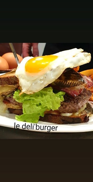 le deli burger