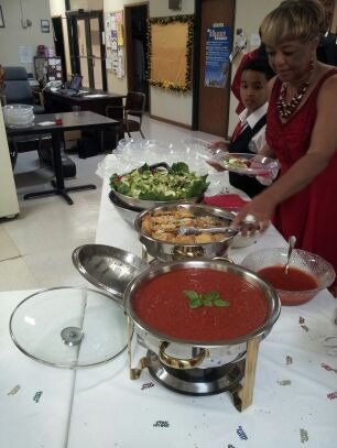 Catered event.