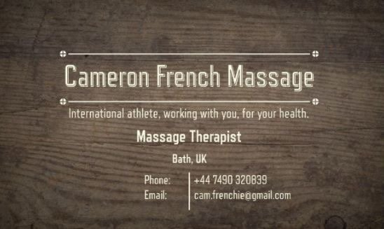Cameron French - Massage Therapy