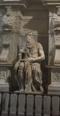 Michelangelo's statue of Moses