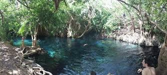Kikuletwa hot spring in moshi Tanzania.