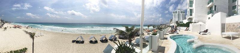Pool- und Strand