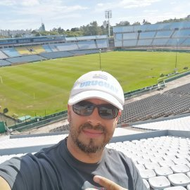 Photo from the Centennial Stadium (site of the first world cup 1930)
