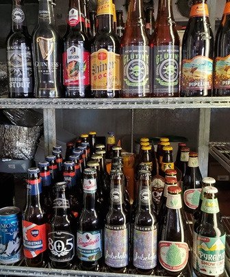 We serve and sell beer - over 60 dif kinds