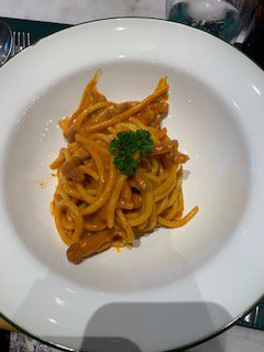 Amatriciana with guanciale