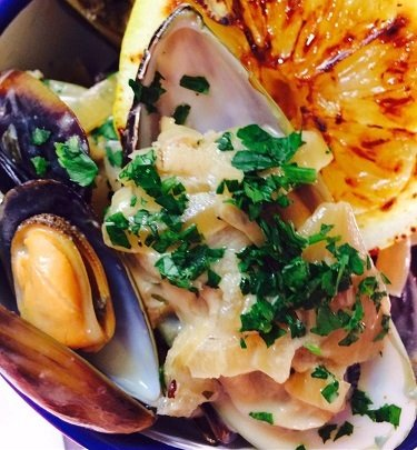 Mussels available at the Red Lion