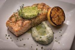 Lemon Dill Grilled Salmon