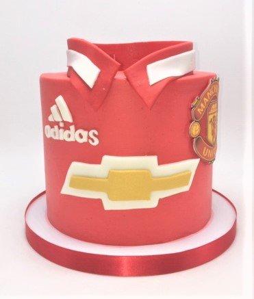 soccer shirt cake