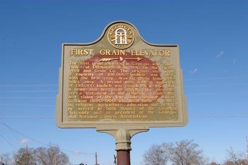 First Grain Elevator