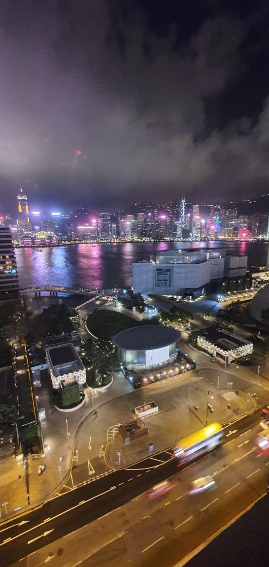 Spectacular views from Harbor view room in Sheraton tower. This was Room 1606