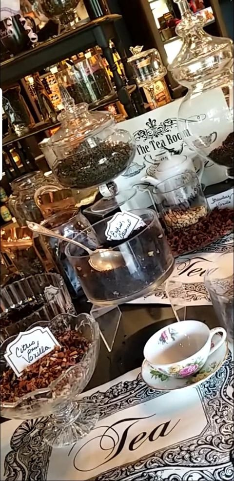 Lots of Fun Fresh Fabulous Loose Leaf & Fruit Teas available to choose from!