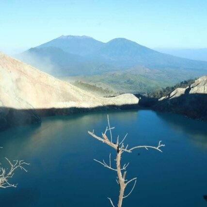 Ijen Crater At world have Two Indonesia and Iceland Please come here to see  I am waiting you