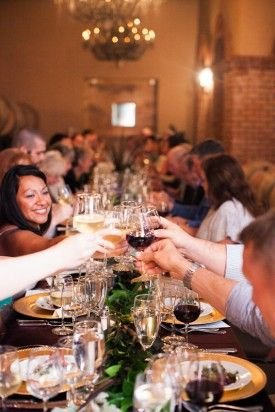 Cheers!  Wine Dinner at Potomac Point Winery