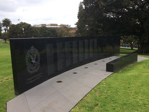 ‪New South Wales Police Force Wall of Rememberance‬