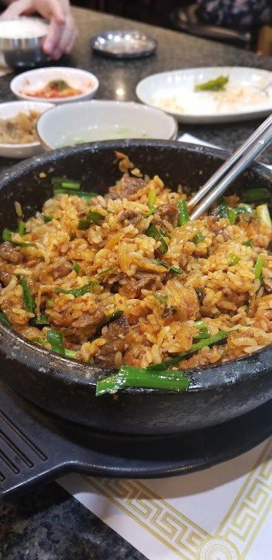 Beef & octopus bowl