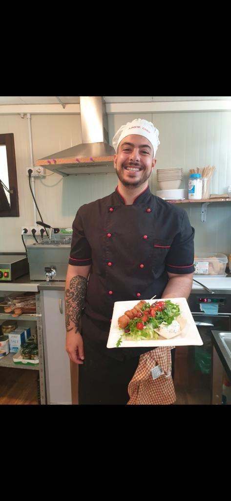 il bravissimo e simpatico chef MARCO. Grazie Marco ............... alla prossima!
