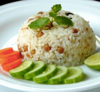 Fried rice with local beans - simply healthy - vegan - gluten free