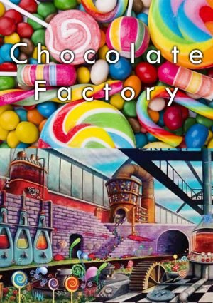 The world is thrilled when a great candy and chocolate maker announces that a handful of Golden Tickets granting access to his factory are to be found in his chocolate bars! You have found one of the Golden Tickets and the day has come to take The Chocolate Factory Tour. Will you resist the temptation to steal the top secret recipes?  Located at our VR Arena Suite 1030 across from the White Chocolate Grill!