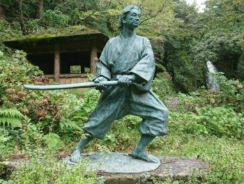 Statue of Kojiro Sasaki