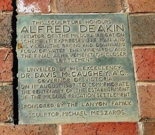 Alfred Deakin Monument