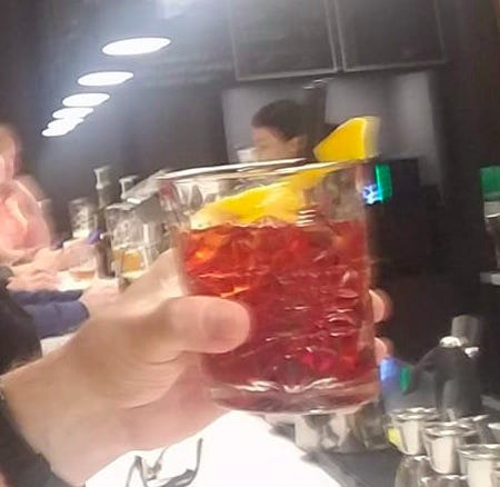 The Negroni work of art!