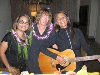 Hawaiian Ukulele and Guitar
