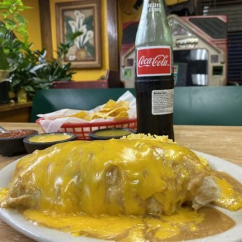 I absolutely love this whole in the wall Mexican Joint! The Barbacoa is my go-to in the taco form or smothered in queso in a burrito!