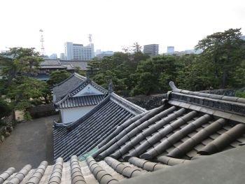 Takamatsu Castle Kitanomaruwatari Yagura
