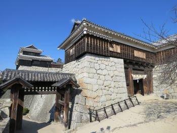 Matsuyama Castle Tonashimon Gate