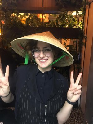 Staff in festa Vietnamese style