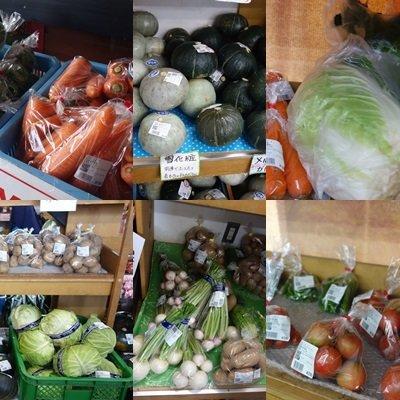 安価で売られている新鮮なお野菜、全部買いたいくらいでした。