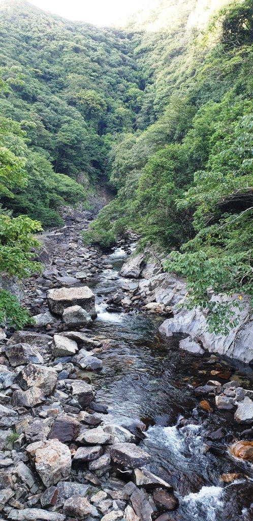 Oko-no-taki-Wasserfall bei Kurio auf Yakushima