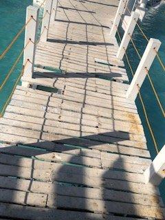 pont délabré