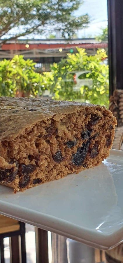 Healthy options . Prune & Sultana Whole meal loaf .