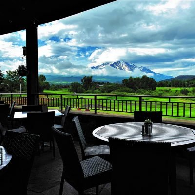 The BEST patio views in the area.