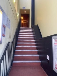 Stair case of Copthorne Hotel and Resort