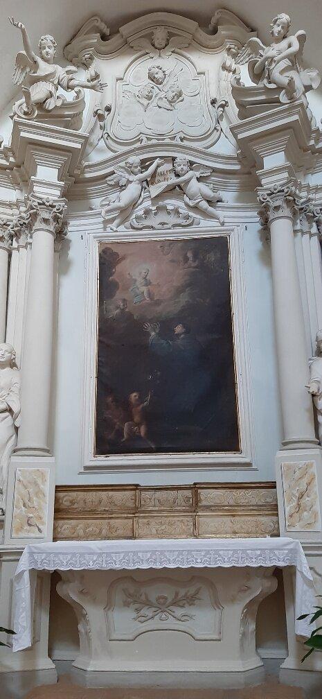 la Pala dedicata a San Francesco