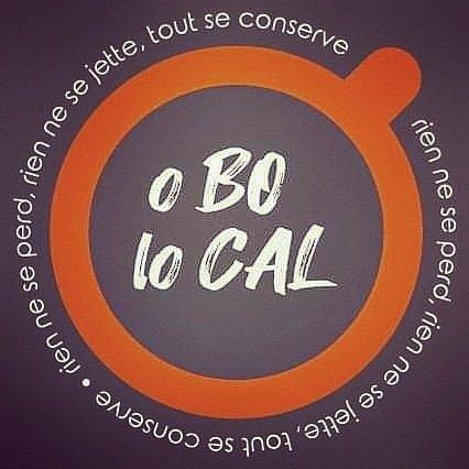 """logo  et devise """"RIEN NE SE PERD, RIEN NE SE JETTE, TOUT SE CONSERVE""""! - Economie circulaire, zéro déchet et produits locaux sont nos maîtres-mots!"""