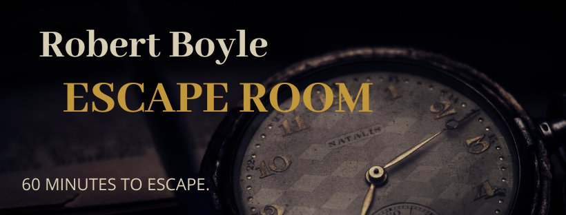 Robert Boyle Escape Room