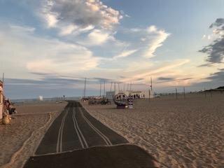 La plage Ouest de Portiragnes