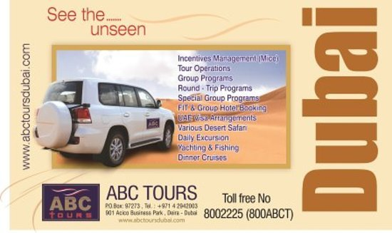 ABC Tours Dubai