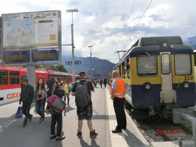 Wilderswil Railway Station
