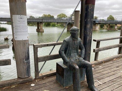 John Egge Statue