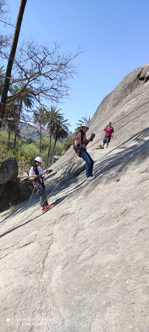 Rappelling in mount Abu  Contact for more information 9799677667