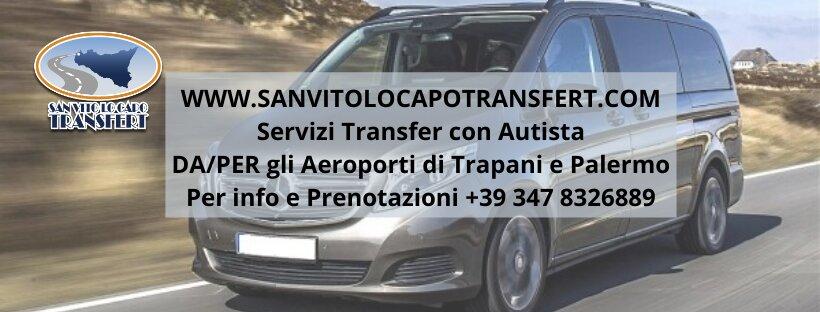 San Vito Lo Capo Transfert