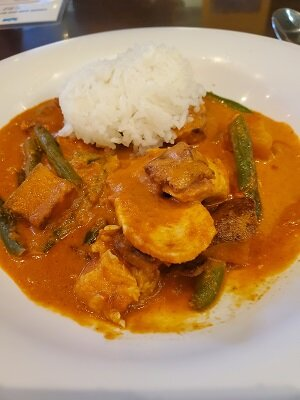 Masala Chicken Curry at Blue Dream Curry --so yummy