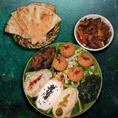 Assiette Ashourya Végétarien